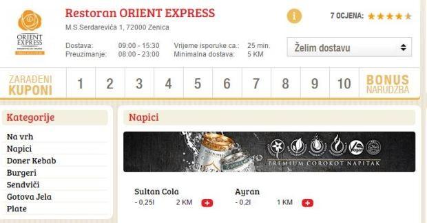 Home » Vijesti » Biznis » Orient Express sada i na Goodfood.ba