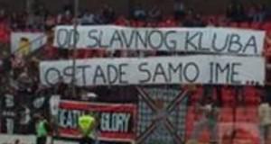 NK Čelik - transparent navijača