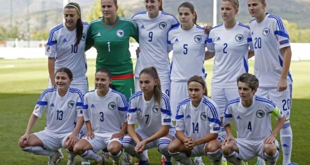 Seniorke BIH poražene od Engleske