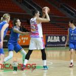 Nataša Popović u akciji na zadnjoj utakmici protiv  Triglava