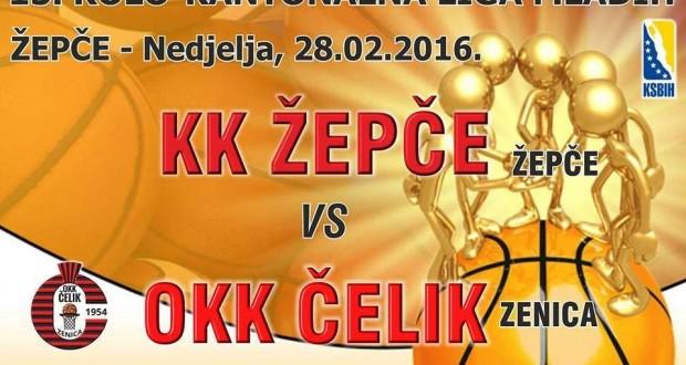 Plakat KK Žepče - OKK Čelik