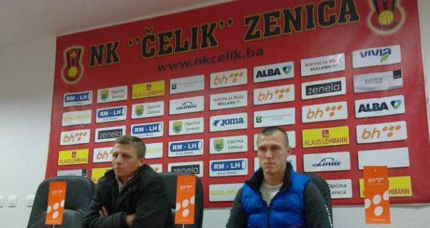 Elvedin Beganović i Jovo Kojić na današnjem pressu