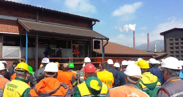 Prvi radni dan u kompaniji ArcelorMittal Zenica