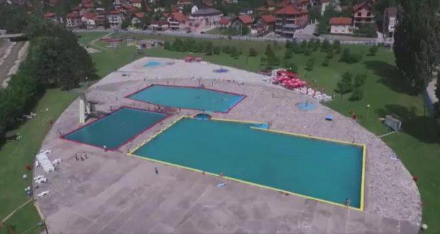 Zenicablog i Dron.ba: LIVE dronom sa bazena – Zenicablog