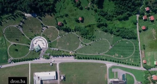 Video: Memorijalni centar Potočari by Dron.ba – Zenicablog