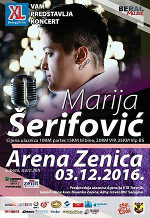 Marija Serifovic Zenica
